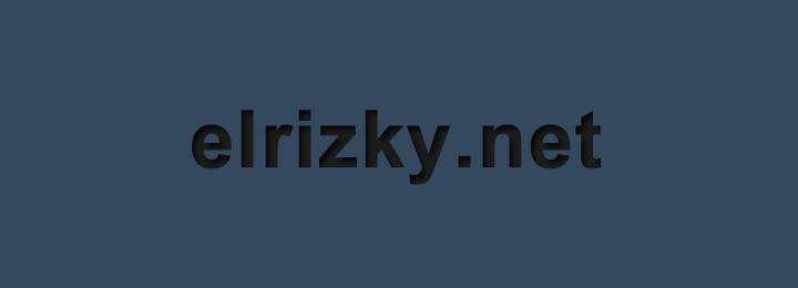elrizky.net